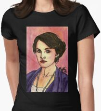 Lady Mary Womens Fitted T-Shirt