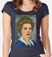 Isobel Crawley Women's Fitted Scoop T-Shirt