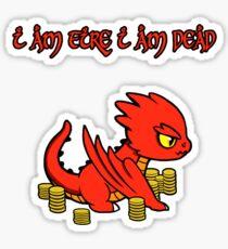 Chibi Smaug Sticker
