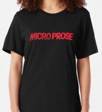 Micro Prose Logo Slim Fit T-Shirt