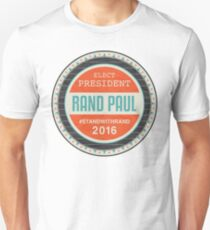Vote Rand Paul 2016 Unisex T-Shirt