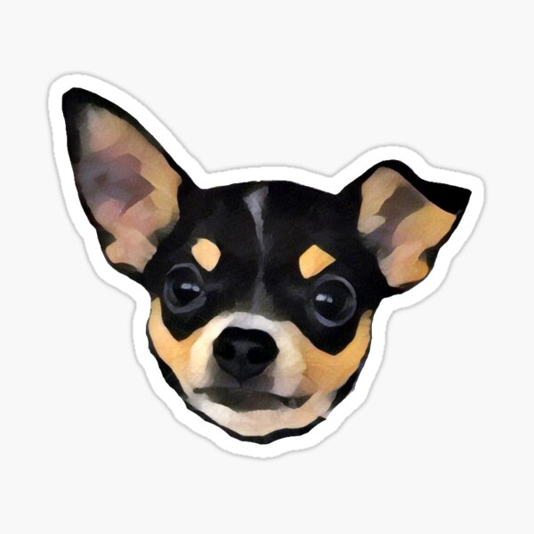 Roscoe the Chihuaha Sticker