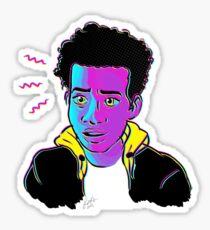 CMYK Miles Morales Sticker