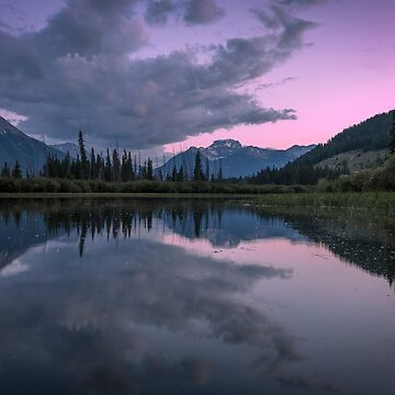 Twilight at Vermillion Lakes, Canada by mattmacpherson
