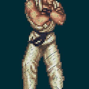 Serenity and Victory of Ryu Vintage Pixels by Lidra