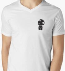 Kodama Spirit (Princess Mononoke) Mens V-Neck T-Shirt