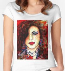 The Model Women's Fitted Scoop T-Shirt