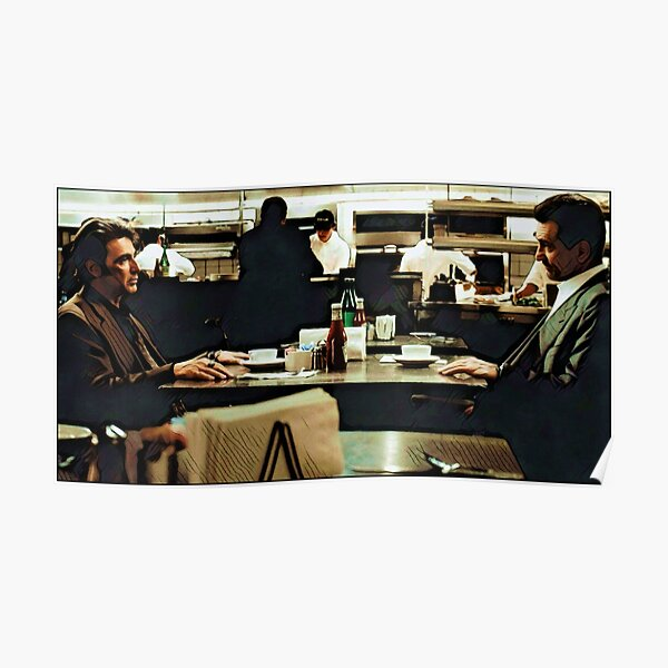 Heat - The Diner Poster