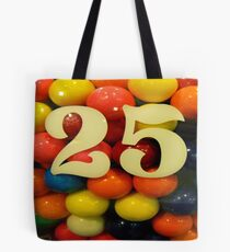 #357   Gum Balls Tote Bag