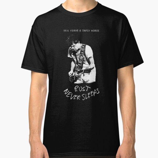 Neil Young-Rust never Sleeps-Folk,Rock-Guitar Classic T-Shirt