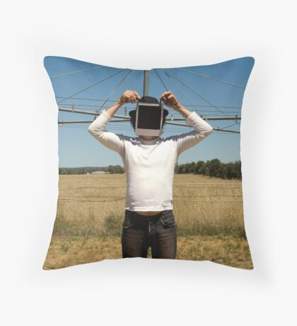 blankety blank Throw Pillow
