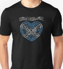 Heart of Lothian - Saltire Unisex T-Shirt