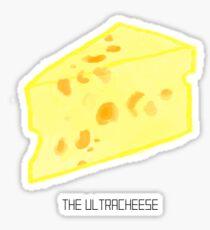 the ultracheese Sticker
