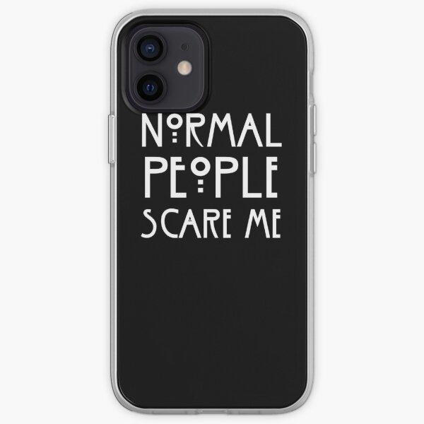 Les gens normaux peur Coque souple iPhone