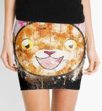 Orange tabby cat orange tabby tabby watercolor painted Mini Skirt