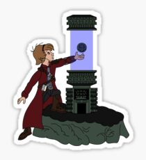 ORB IN THE STONE Sticker