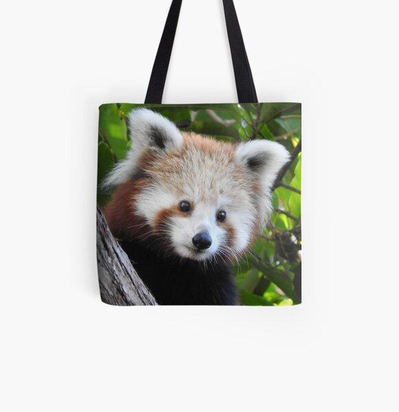 Maiya The Red Panda All Over Print Tote Bag