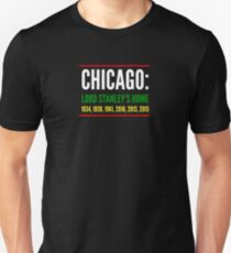 Chicago: Lord Stanley's Home (Striped) Unisex T-Shirt