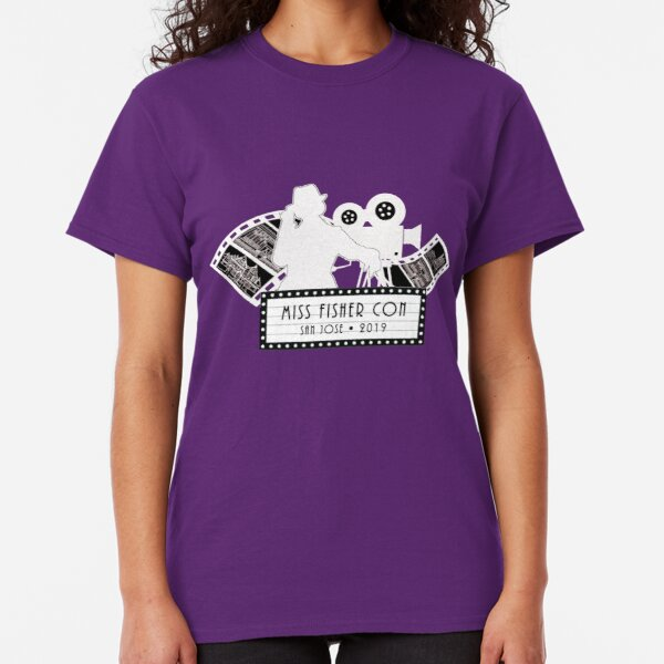 Lights, Camera Action! Reverse Back-Printed for Dark Colors Classic T-Shirt