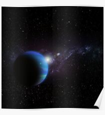 OUTERSPACE - GALAXY Poster