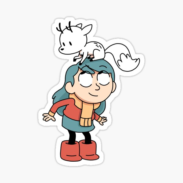 Hilda and Twig // Hilda Sticker