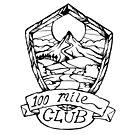 100 Mile Club Emblem by bangart