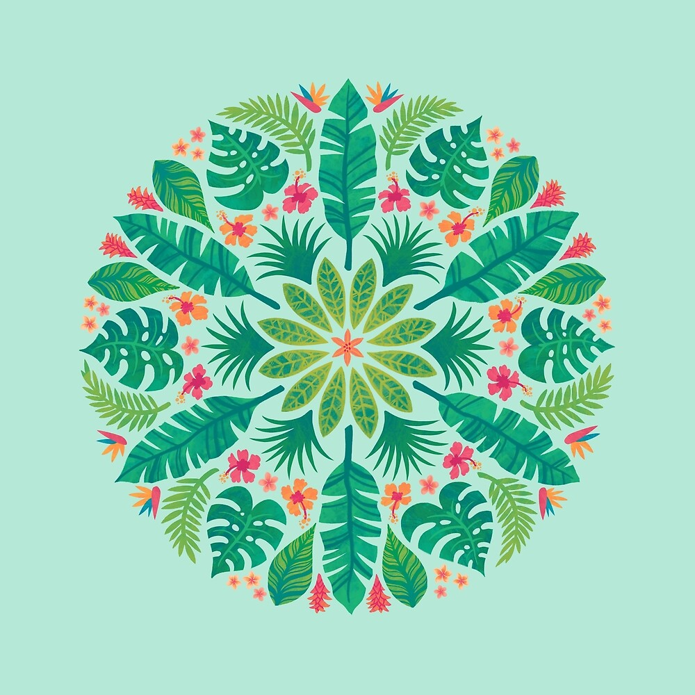 «Sol tropical (verde claro)» de Wayne Minnis