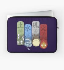 Ghibli Elemental Charms Laptop Sleeve