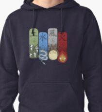 Ghibli Elemental Charms Pullover Hoodie