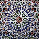 Moroccan tile design by Christine Oakley