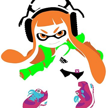 Splatoon Inkling Color Art by BubbleberryVII