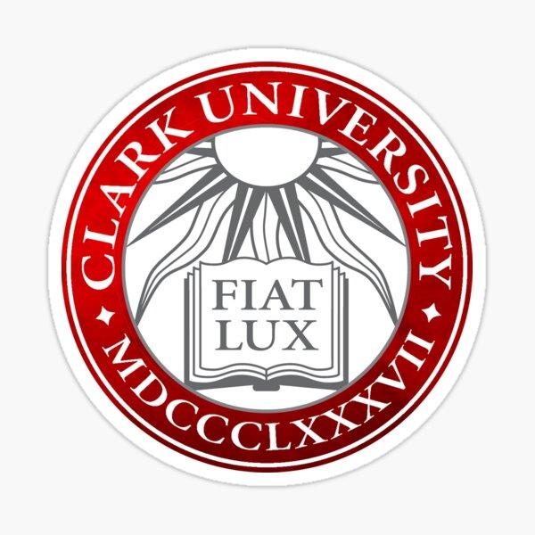 Clark University Gradient Seal Sticker