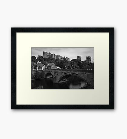 Castle and Cathedral Framed Print
