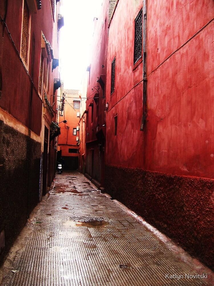 Alleyway of Dreams - Morocco by Katlyn Novitski