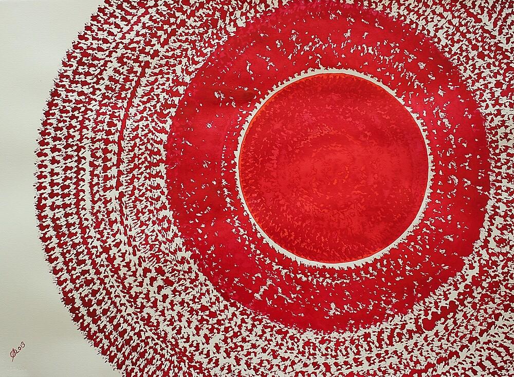 Red Kachina original painting by CrowRisingMedia