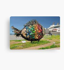 Trash Fish Canvas Print