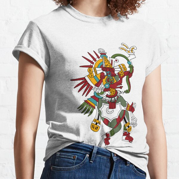 #Quetzalcoatl #featheredserpent #worship #Feathered Serpent Teotihuacan century Mesoamerican chronology veneration figure Mesoamerica Mexican religious center Cholula Maya area Kukulkan Classic T-Shirt