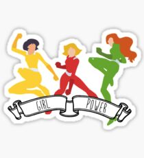 Totally Spies - Girl Power Sticker