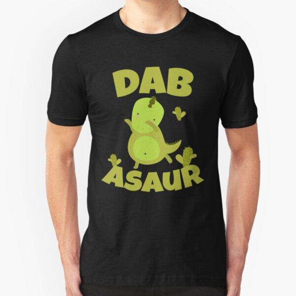 Dab-Asaur dinosaur gift Slim Fit T-Shirt