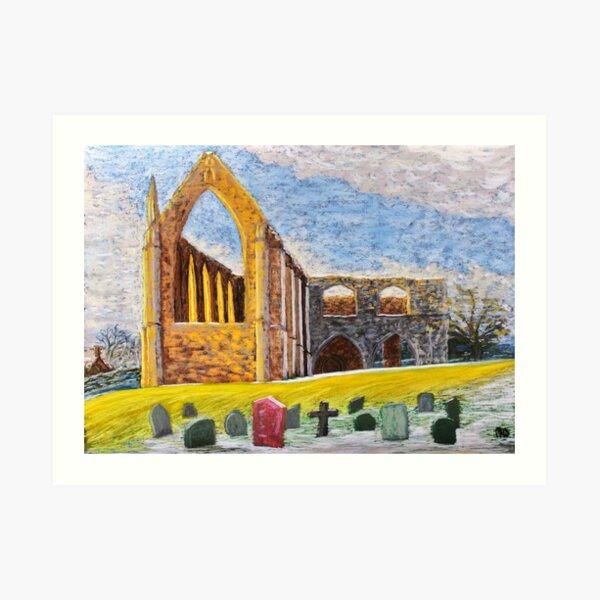 Crisp and Cool Bolton Abbey  Art Print