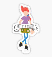 Pepper Ann - One in a Million Sticker