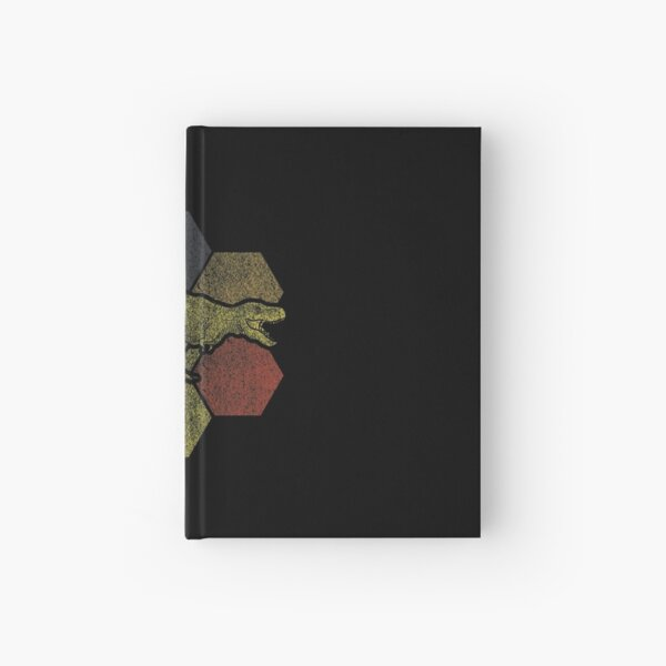 Dinosaur Dino Retro Gift Hardcover Journal