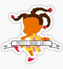 Susie   Protect Brown Girls Sticker