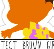 Susie - Protect Brown Girls Sticker