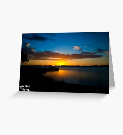 Australind Estuary Greeting Card