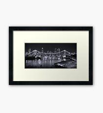 Story Bridge B&W- Brisbane Framed Print