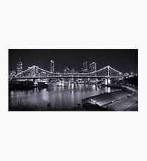 Story Bridge B&W- Brisbane Photographic Print