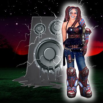 Cyborg Nattie by Bonnie
