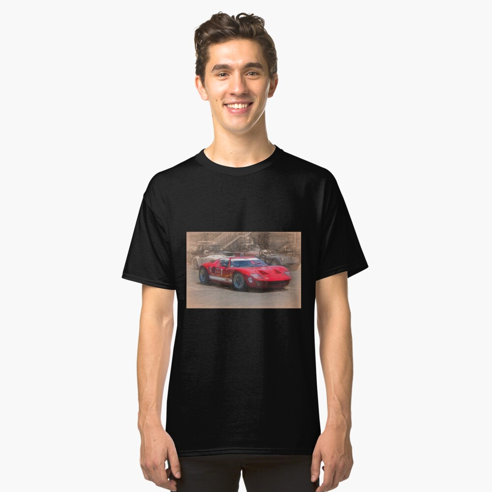 Red GT40 Classic T-Shirt