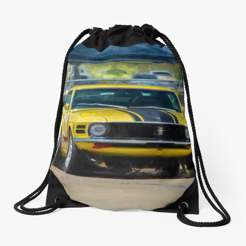 1970 Mustang Drawstring Bag